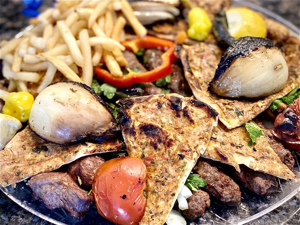 Food from Syrian Grill