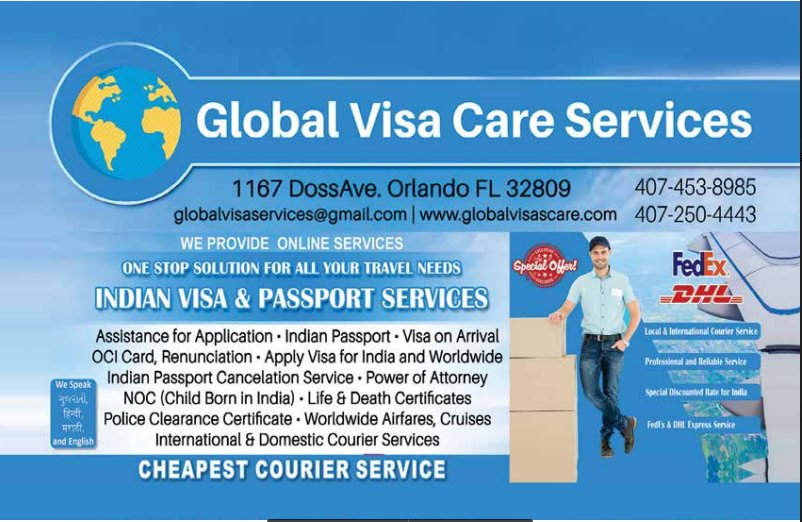 Global Visa Care: 1137 Doss Ave, Orlando, FL