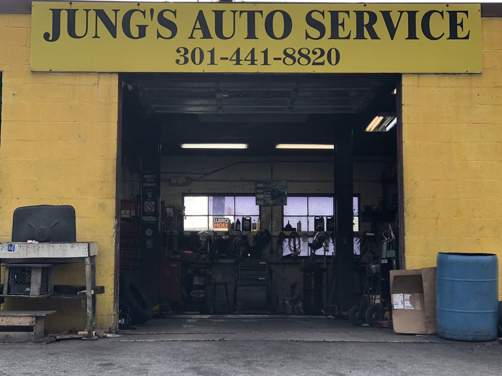 Jung's Auto Service: 9600 Baltimore Ave, College Park, MD