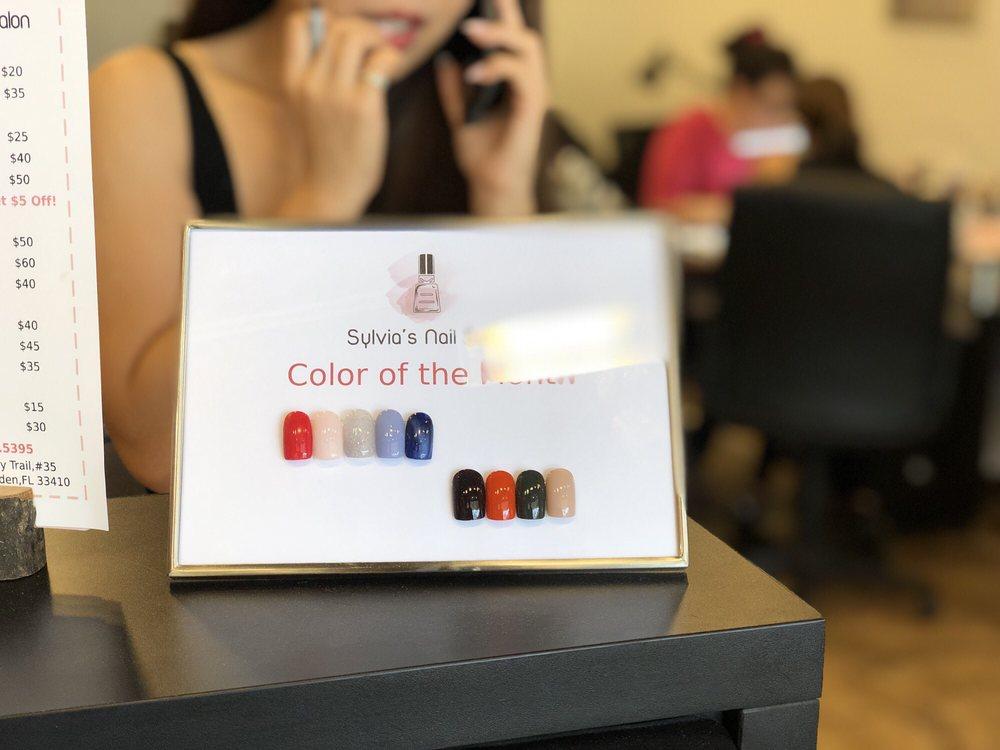Sylvia's Nail Salon: 9089 N Military Trl, Palm Beach Gardens, FL