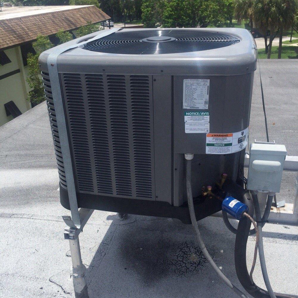 photos for central air repair - yelp
