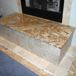 Stone Countertops Albany Ny : Photo of Klassic Stone - Albany, NY, United States. Granite fireplace ...