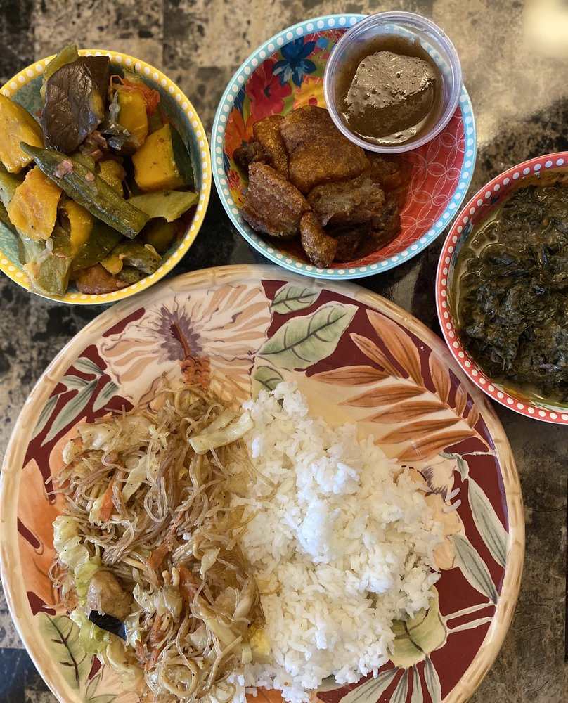 Food from Filipino Express Restaurant