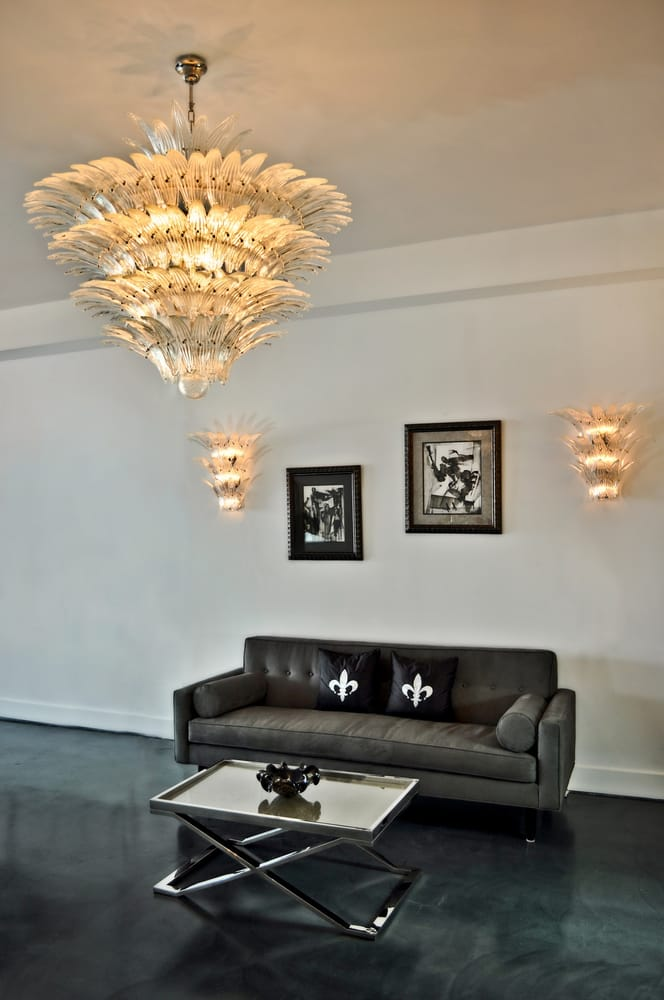 Do Wall Sconces Have To Match Chandelier : Palma large chandelier with matching wall sconces - Yelp