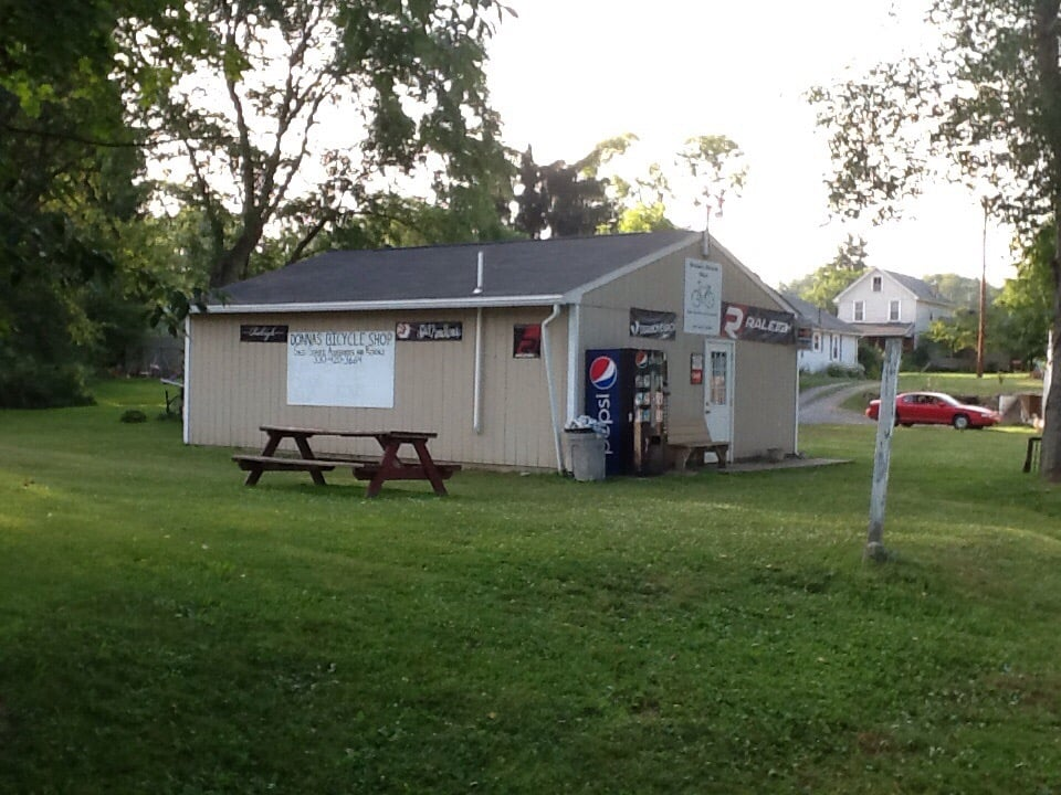 Donna's Bicycle Shop: 446 Maple St, Lisbon, OH