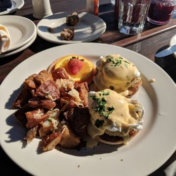 Photo Of Bluwater Bistro Seattle Wa United States Benedict