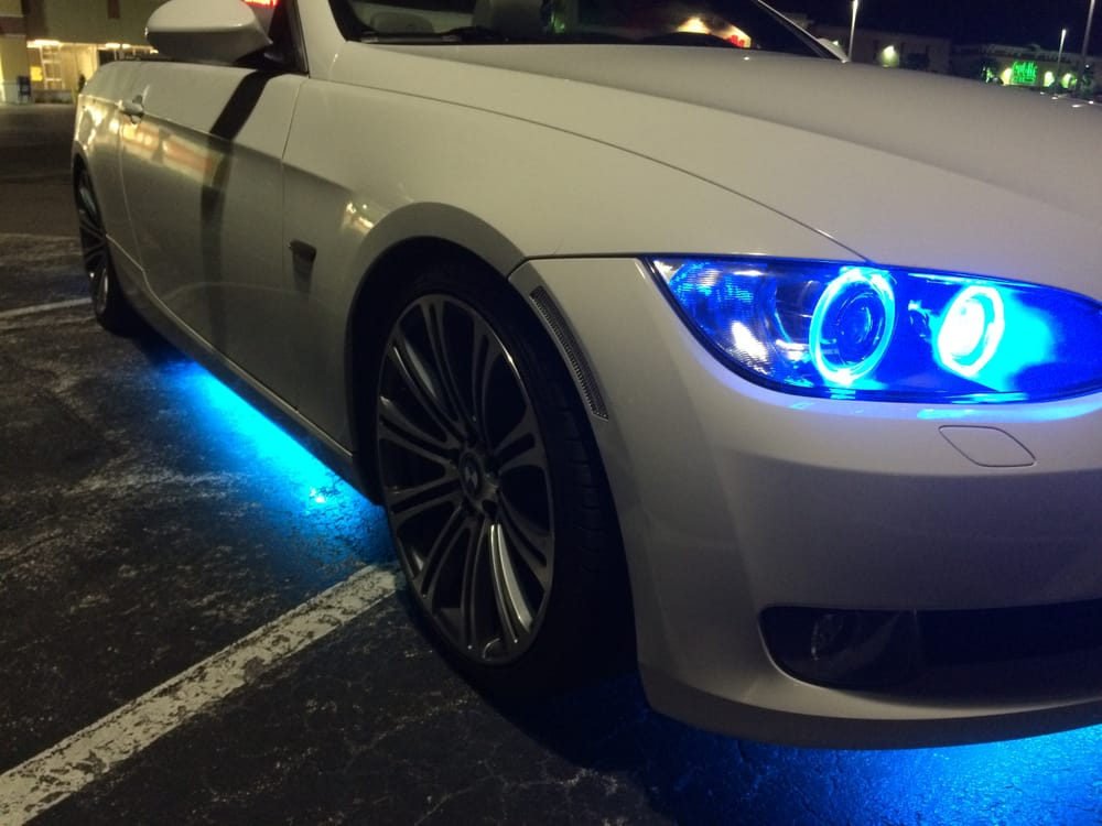 Bmw Led Lighting Upgrades For Angel Eyes And Underglow Yelp