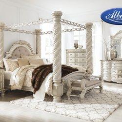 Photo Of Albert S Home Furnishings Wayne Mi United States Cimore Pearl Silver