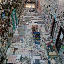 Photo Of Philadelphia S Magic Gardens Pa United States Isaiah Zagar At