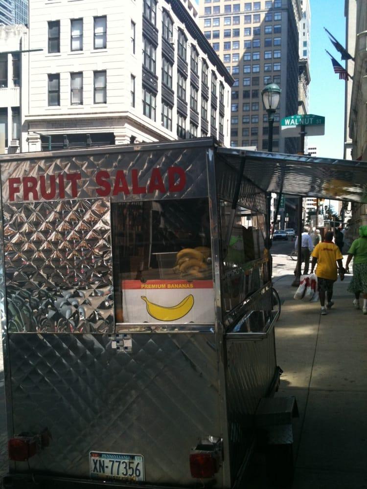 Fruit Salad Cart