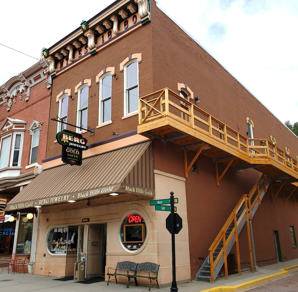 Berg Jewelry and Gifts: 650 Main St, Deadwood, SD