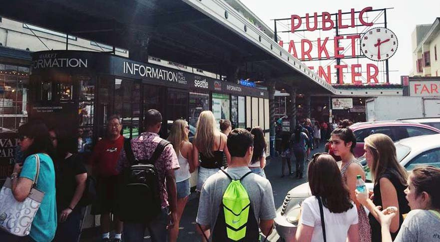 Seattle Visitor Center - Pike Place Market