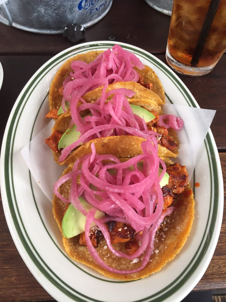 Pink Taco Plate Yum Yelp