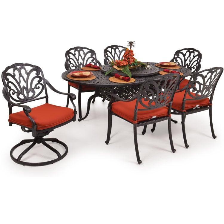 San Marino Outdoor Cast Aluminum Patio Dining Set Yelp