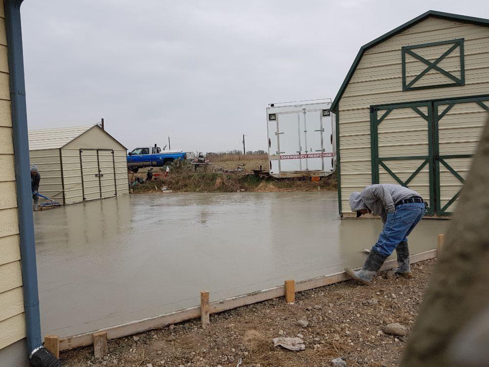 Pro Concrete Contractors San Antonio: 24921 Whispering Winds Dr, San Antonio, TX