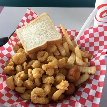 Photo Of Atlantic Seafood Restaurant Columbia Sc United States The Popcorn Shrimp