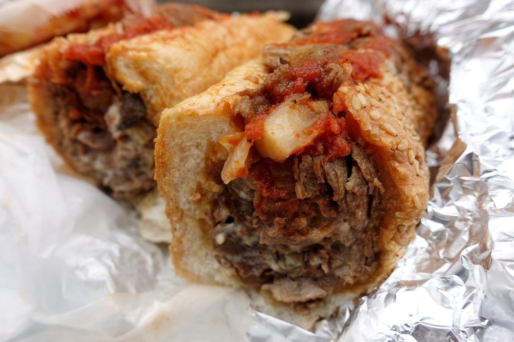 Food from Tony's Al Taglio