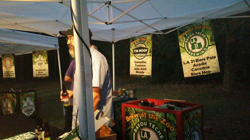 Brew At the Zoo: 3601 Thomas Rd, Baton Rouge, LA