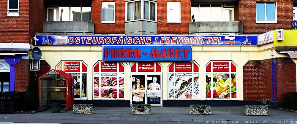 Ferro Markt Internationaler Supermarkt Billstedte