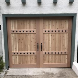 Photo Of Alliance Overhead Door   Simi Valley, CA, United States. Full .  Full Custom Western Red Cedar