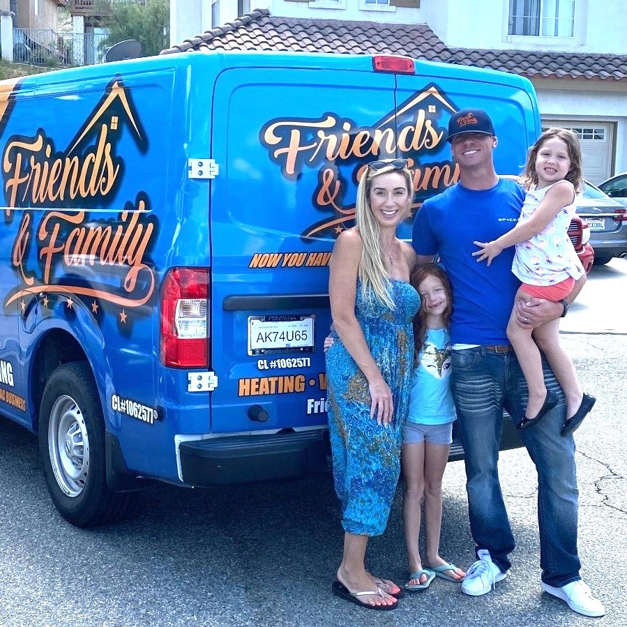 Friends & Family Heating And Air Conditioning: 1611 Pomona Rd, Corona, CA