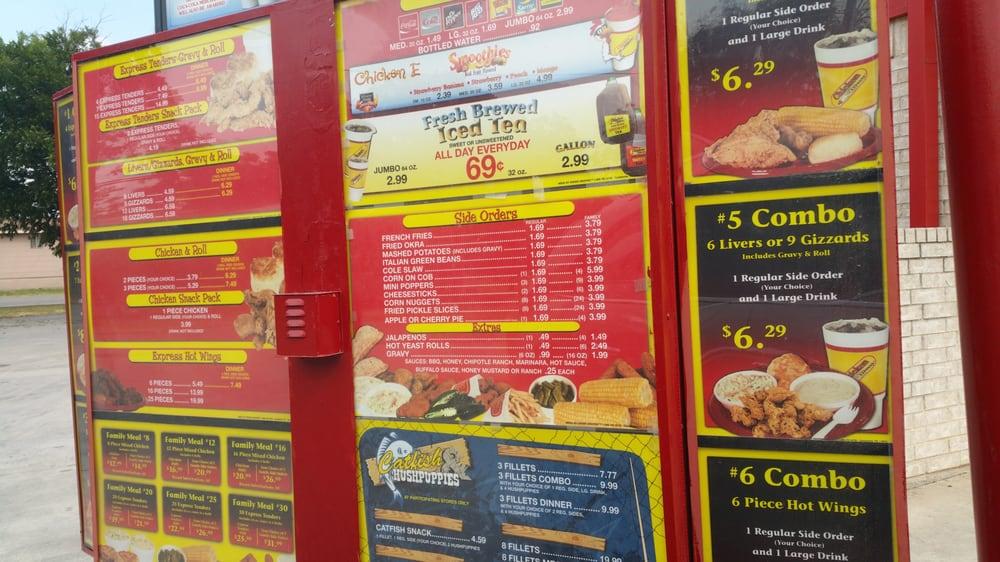 Chicken Express: 1213 E Central Ave, Comanche, TX