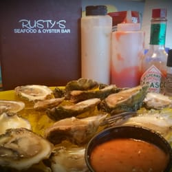 Photo Of Rusty S Seafood Oyster Bar Cape Canaveral Fl United States