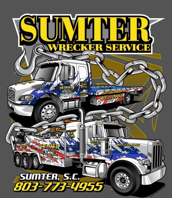 Sumter Wrecker Service: 324 Green Swamp Rd, Sumter, SC