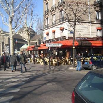Aux trois obus 13 avis brasseries 120 rue michel for La poste porte de saint cloud