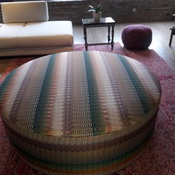 Photo Of A S Upholstery   Chicago, IL, United States. The Ottoman Made By