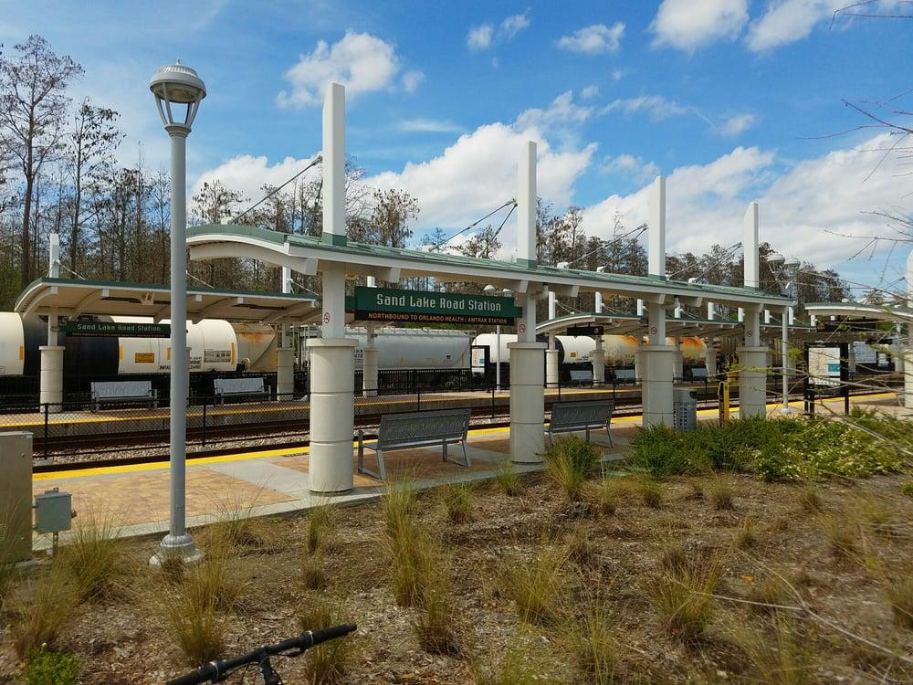 Sand Lake Road Sunrail Station