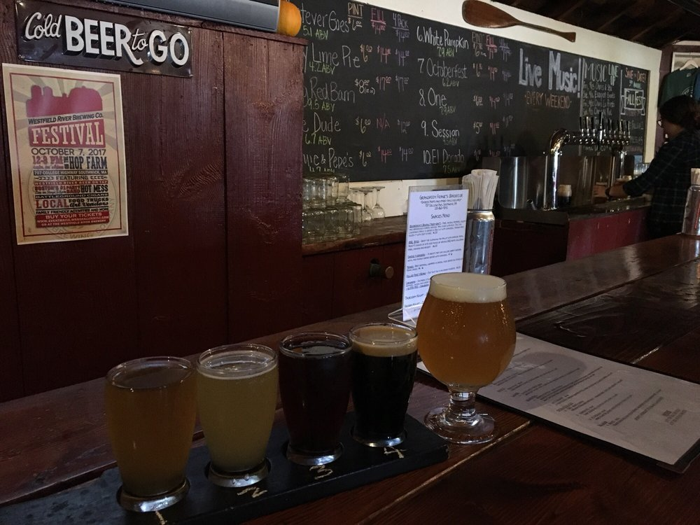 Westfield River Brewing Company: 707 College Hwy, Southwick, MA