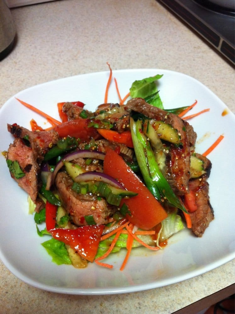 Marinated beef salad yelp for At siam thai cuisine