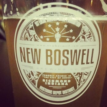 New Boswell Brewery Tap Room