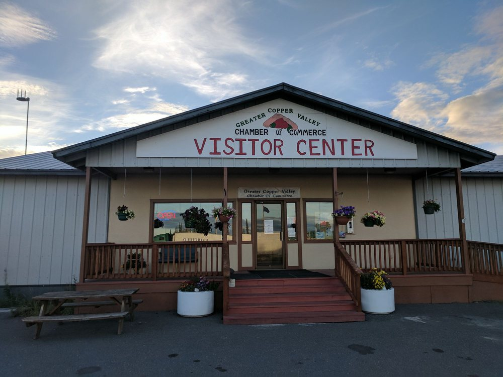 Greater Copper Valley Chamber of Commerce Visitor Center: Glennallen, AK