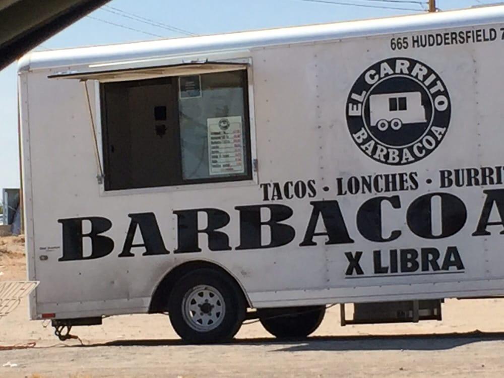 El Carrito Barbacoa: Montana Ave, El Paso, TX