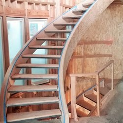 Photo Of Amendt Stair Framing   Santa Ana, CA, United States. Free Standing
