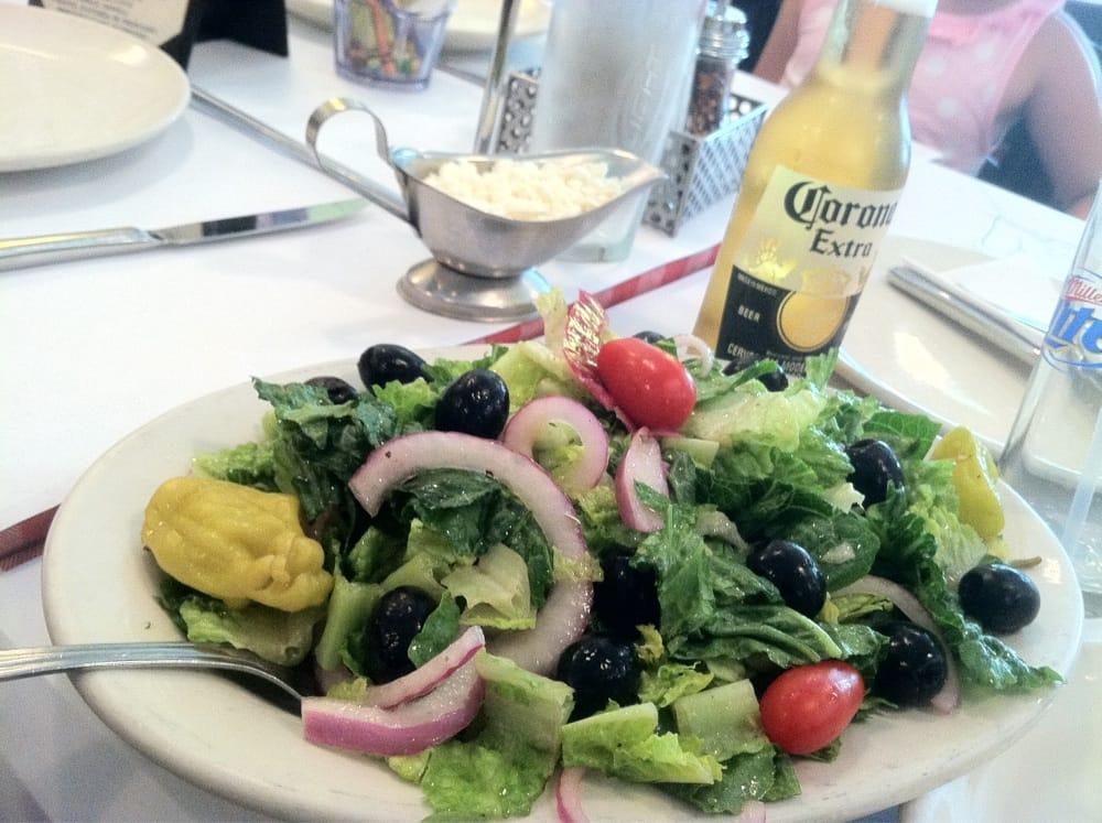 Mediterranean Salad W Feta On Side Yelp
