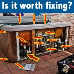 sealer stop tub a leak oz hot spadepot spa com concentrate seal