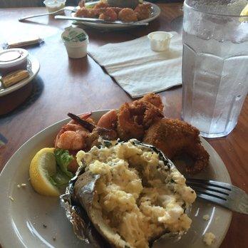 Photo Of Charlotte Plummer Seafare Restaurant Rockport Tx United States Fried Shrimp