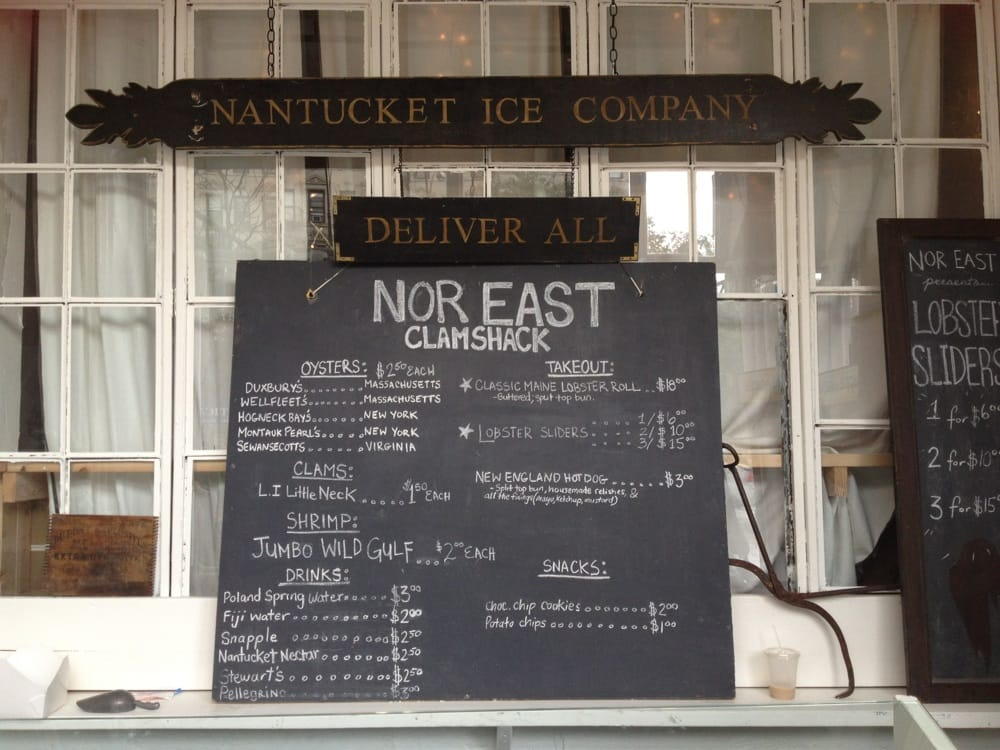 North East Clamshack: 79 Delancey St, New York, NY
