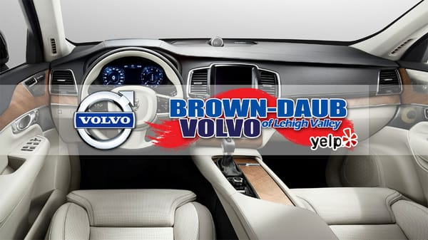 brown-daub volvo cars lehigh valley 4046 jandy blvd. nazareth, pa