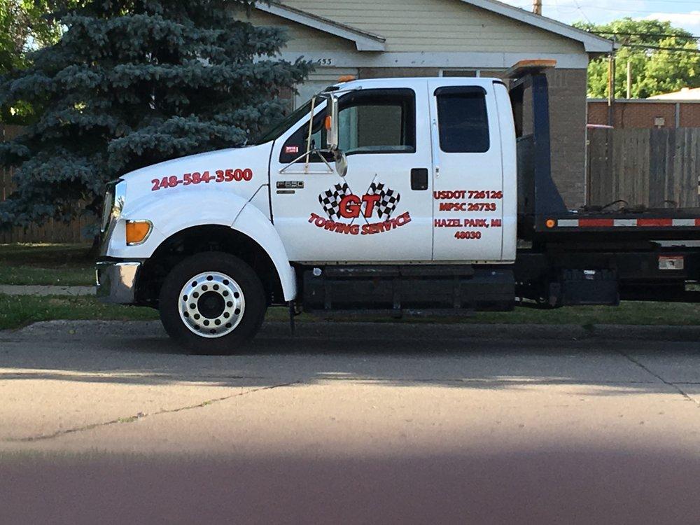 GT Towing Service: 650 E Woodruff Ave, Hazel Park, MI