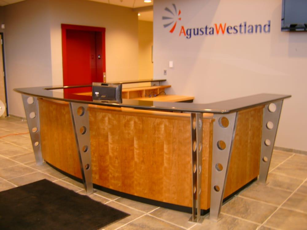 Photo Of Mckay S Custom Furniture Burlington Nj United States Reception Desk