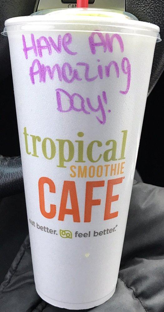 Tropical Smoothie Cafe Commack Commack Ny