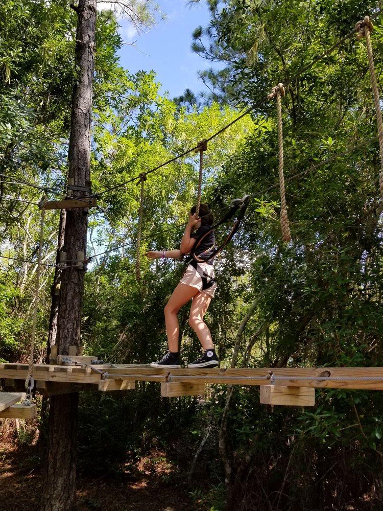 Zip'N Fun Adventure Park: 17200 16th St, Gulfport, MS