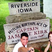 Why is Riverside, Iowa important to