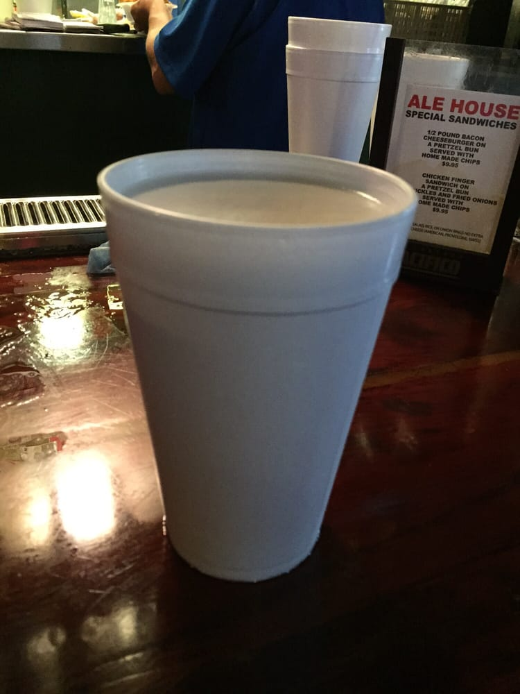32 oz beers in styrofoam cups pretty awesome yelp