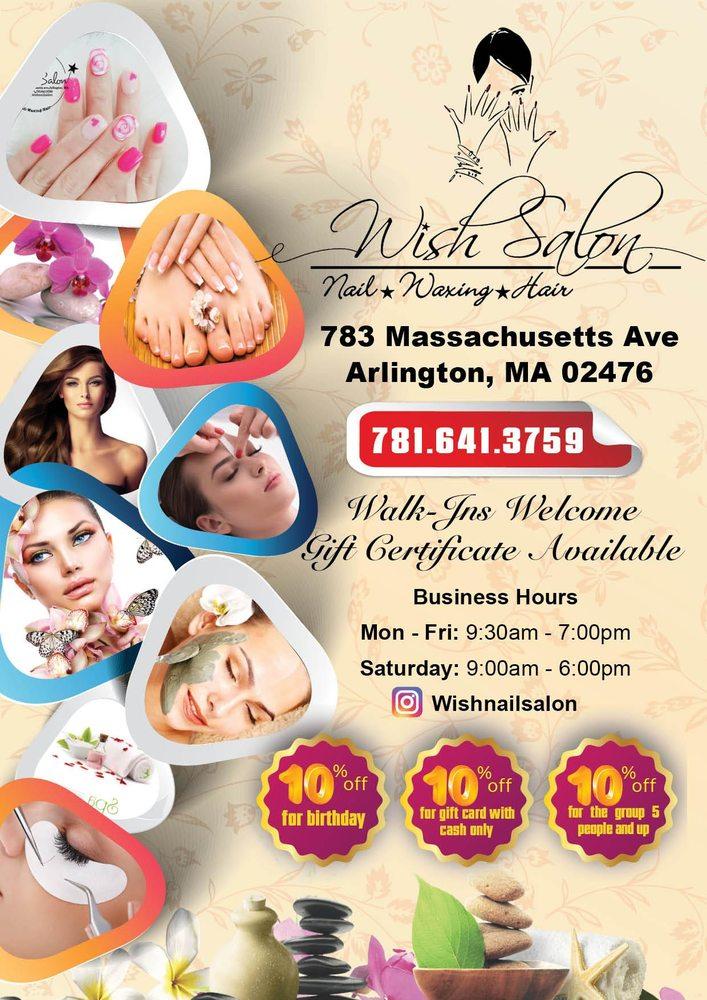Wish Salon & Spa: 783 Massachusetts Ave, Arlington, MA