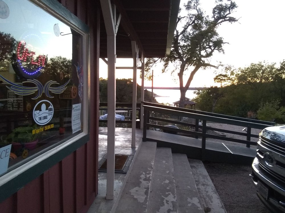 The Cove Cafe: 100 Tejas Trl, Whitney, TX